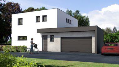 Haus 5z mit Garage und Terrasse elsass