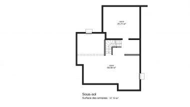 Haus 5z mit Garage und Terrasse bas rhin