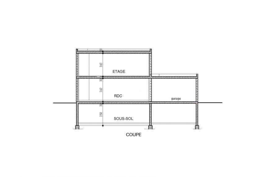Haus 5z mit Garage und Terrasse alsace