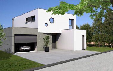 Haus 6z mit Garage und Pool alsace