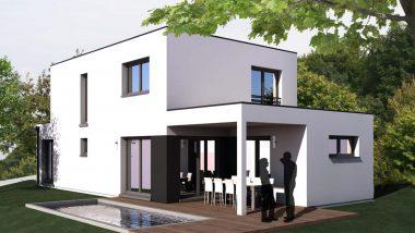 Haus 6z mit Garage und Pool haut rhin