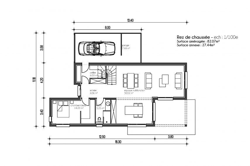 Haus 6z mit Garage und Pool mulhouse