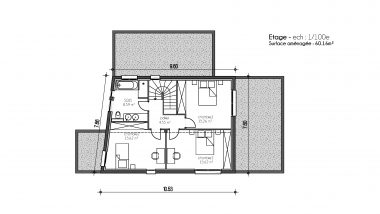 Haus 6z mit Garage und Pool elsass