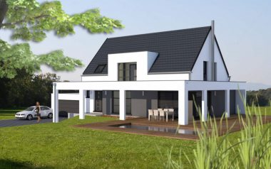 Haus 6z mit Garage, Pool und Mezzanine