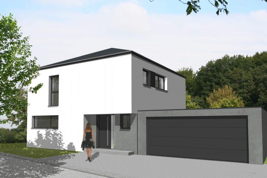 tendance 2 8 haus 5z mit garage batige. Black Bedroom Furniture Sets. Home Design Ideas